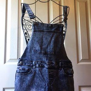 Denim - Very sheek denim overalls